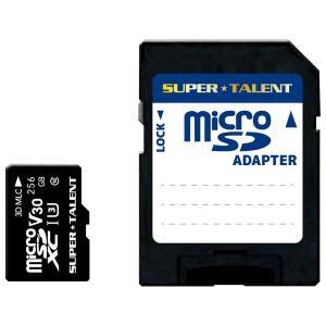 SUPERTALENT microSDXCメモリカード 256GB Class10 UHS-I Premium Pro Durable ST-56MSU3PD 返品種別Aの商品画像|ナビ