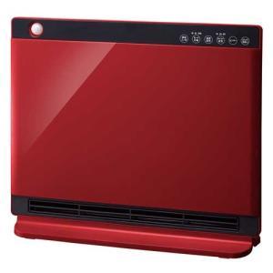 スリーアップ 人感/ 室温センサー付パネルセラミックヒーター(リモコン付 レッド) (暖房器具)Three-up NEWヒートワイドスリム CHT-1636RD 返品種別A|joshin