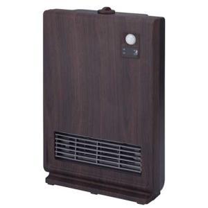 スリーアップ 人感センサー付セラミックヒーター(ダークウッド) (暖房器具)Three-up スリムセラミックヒーター CHT-1537DW 返品種別A|joshin