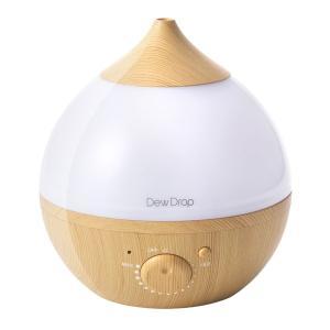 スリーアップ 超音波式アロマ加湿器(4畳まで ナチュラルウッド) Three-up Dew Drop S(デュードロップS) HFT1715NW 返品種別A joshin