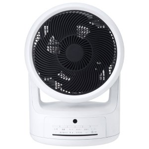 スリーアップ サーキュレーター(リモコン付 ホワイト) (扇風機)&(暖房機器)Three-up 「ヒート&クール」 HC-T1805WH 返品種別A|joshin