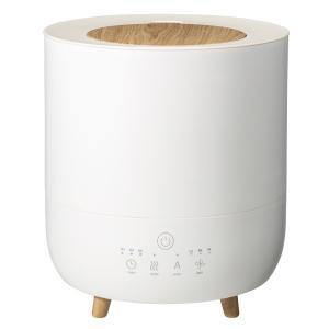 スリーアップ ハイブリッド式(加熱+超音波)加湿器(10畳まで ホワイト) Three-up Fog...