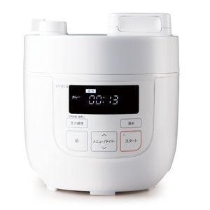 シロカ 電気圧力鍋 ホワイト siroca SP-D121(W) 返品種別A|joshin