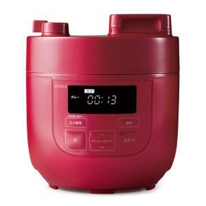 シロカ 電気圧力鍋 レッド siroca SP-D121(R) 返品種別A|joshin