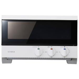 シロカ オーブントースター ホワイト siroca すばやき ST-2A251(W) 返品種別A
