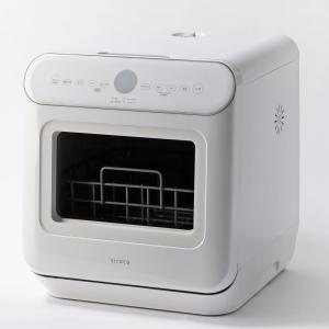 シロカ 食器洗い機(ホワイト) (食洗機)(食器洗い機)(工事・分岐水栓不要)siroca SS-M...