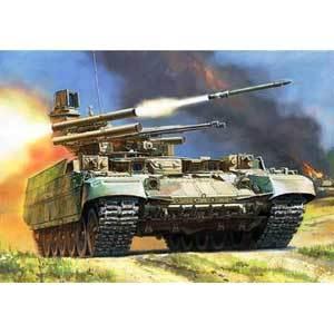 ZVEZDA BMPT ターミネーター ロシア火力支援戦車 (1/35スケール ZV3636)の商品画像|ナビ