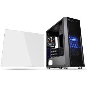 Thermaltake ミドルタワー型PCケース(ブラック)Versa H26 Black / w casefan Versa H26シリーズ CA-1J5-00M1WN-01 返品種別B|Joshin web