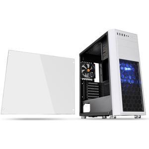 Thermaltake ミドルタワー型PCケース(ホワイト)Versa H26 White / w casefan Versa H26シリーズ CA-1J5-00M6WN-01 返品種別B|Joshin web