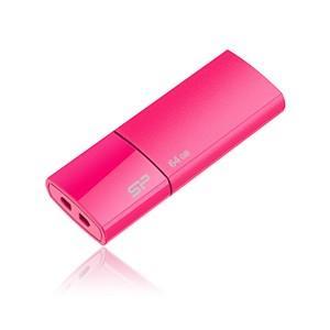 シリコンパワー USB2.0対応 フラッシュメモリ 64GB(ピンク) スライドシリーズ Ultima U05 SP064GBUF2U05V1H 返品種別A joshin