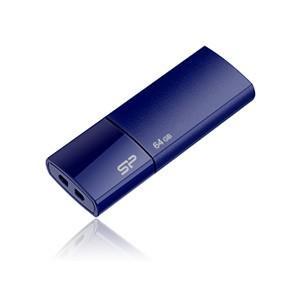 シリコンパワー USB2.0対応 フラッシュメモリ 64GB(ネイビー) スライドシリーズ Ultima U05 SP064GBUF2U05V1D 返品種別A joshin