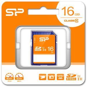 シリコンパワー SDHCメモリカード 16GB Class10 UHS-I SP-SDHC16GB10 返品種別A|joshin