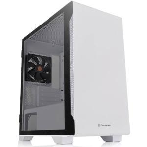 Thermaltake ミニタワー型PCケース(ホワイト) S100 TGシリーズ CA-1Q9-00S6WN-00 返品種別B|Joshin web