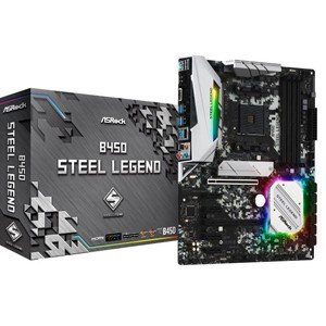 ASRock ATX対応マザーボードB450 STEEL LEGEND B450 STEEL LEG...