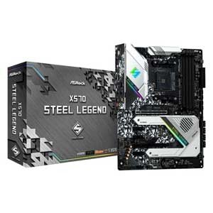 ASRock ATX対応マザーボードX570 STEEL LEGEND X570 STEEL LEGEND 返品種別B