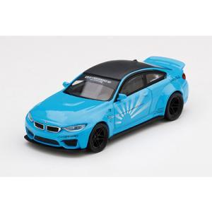 MINI−GT 1/ 64 LB★WORKS BMW M4 ベイビーブルー(左ハンドル)(MGT00...