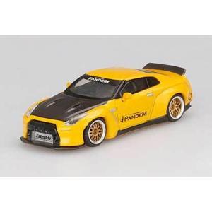 MINI−GT 1/ 64 Pandem Nissan GT-R R35 ダックテイル メタリックイ...
