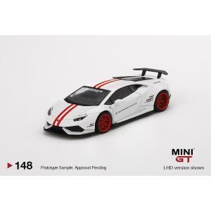 MINI−GT 1/ 64 LB★WORKS ランボルギーニ ウラカン バージョン 1ホワイト/ レ...