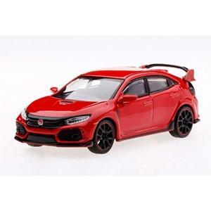 TSM Model 1/ 64 Honda シビック Type R ラリーレッド (右ハンドル)(MGT00012-R)ミニカー 返品種別B