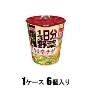 ヌードルはるさめ 1/ 3日分の野菜 うま辛チゲ 44g(1ケース6個入) エースコック ハルサメ1/ 3ニチヤサイウマチゲ6コ 返品種別B