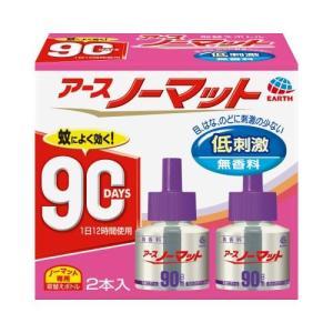 ノーマット取替えボトル 90日用無香料45ml×2 アース製薬 ア-スノ-マツトカエ90ムコウ2P 返品種別A|joshin