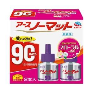 ノーマット取替えボトル 90日用微香性45ml×2 アース製薬 ノ-マツトRカエ90ニチ2P 返品種別A|joshin