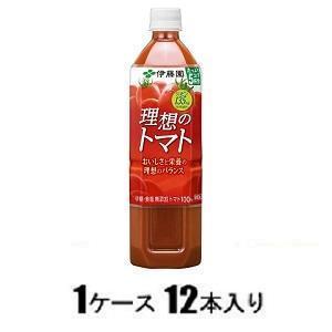 理想のトマト 900g(1ケース12本入) 伊藤園 リソウノトマト900(ケ-ス) 返品種別B|joshin