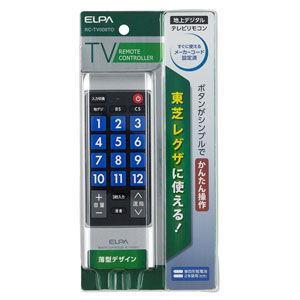 ELPA 地上デジタル用テレビリモコン 東芝テレビ用/ レグザ RC-TV008TO 返品種別A