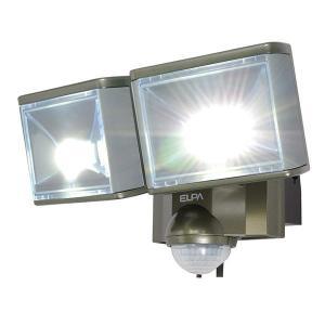 ELPA LEDセンサーライト2灯 ESL-802AC 返品種別A|joshin