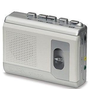 ELPA カセットテープレコーダー (録音・再生) エルパ CTR-300 返品種別A