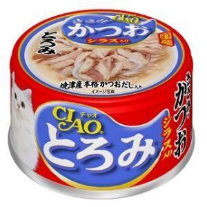 チャオとろみ ささみ・かつおシラス入り 80...の関連商品10