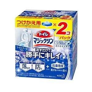 流すだけで勝手にキレイ ライトブーケの香り つけかえ用 2個パック(80g×2個) 花王 トイレマジ...