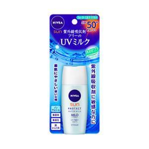 ニベアサン プロテクトウォーターミルク マイルド SPF50+(30ml) 花王 返品種別A
