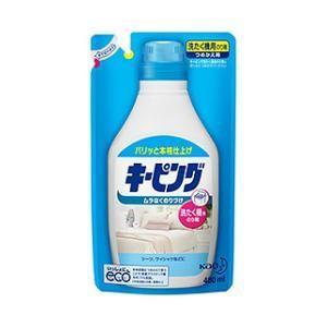 キーピング 洗たく機用のり剤 つめかえ用 480ml 花王 センタクキ-ピングカエ 返品種別A