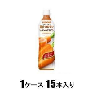 高β-カロテンにんじんジュース 720ml(1ケース15本入) カゴメ コウBニンジンジユ-ス720X15 返品種別B|joshin