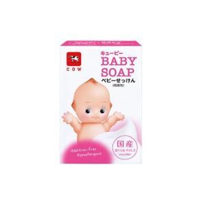 キューピー ベビー石けん 90g 牛乳石鹸共進社 マイルドベビ-セツケン 返品種別A|joshin