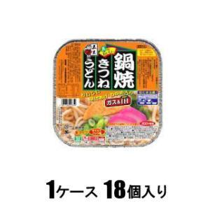 鍋焼きつねうどん 210g(1ケース18個入) 五木食品 ナベヤキキツネウドン210GX18 返品種別B|joshin