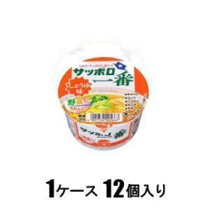サッポロ一番 しょうゆ味ミニどんぶり 44g(1ケース12個入) サッポロ一番 サツポロシヨウユミニドンブリ12コ 返品種別B|joshin