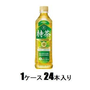 サントリー緑茶 伊右衛門 特茶(特定保健用食品)500ml(1ケース24本入) サントリー イエモントクチヤ500MLX24 返品種別B|joshin