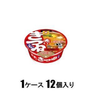マルちゃん 赤いまめきつねうどん(西向け)41g(1ケース12個入) 東洋水産 アカイマメキツネウドン41GX12 返品種別B joshin