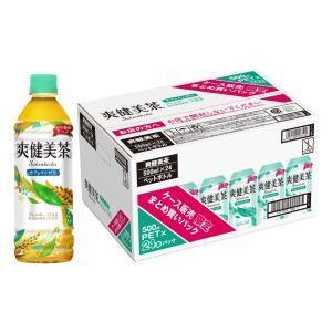 爽健美茶 500ml ケース販売限定まとめ買いパック(1ケース24本入) コカ・コーラ ソウケンビチヤ 500PX24 返品種別B|joshin