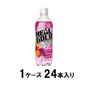 リアルゴールド ウルトラチャージ スーパーフルーツパンチ 490ml(1ケース24本入) コカ・コー...