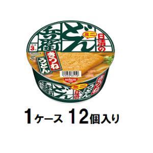 日清のどん兵衛 きつねうどんミニ [西] 42g(1ケース12個入) 日清食品 ドンベエキツネミニ42GX12 返品種別B joshin
