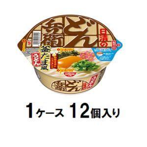 日清のどん兵衛 釜たま風うどん 101g(1ケース12個入) 日清食品 ドンベエカマタマフウウドンケ-ス 返品種別B joshin