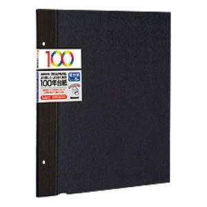 ナカバヤシ 替台紙 5枚(ブラック) Nakabayashi 100年台紙 Lサイズ アH-LFR-5-D 返品種別A|joshin