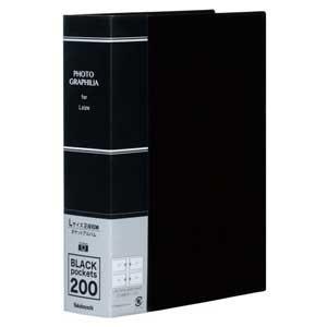 在庫状況:入荷次第出荷/◆L判 2段 200枚収納/[PHL1020D]