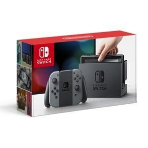 任天堂 Nintendo Switch 本体(Joy-Con(L)/ (R) グレー) 返品種別B|joshin