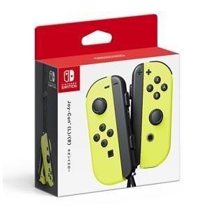 任天堂 (Nintendo Switch)Joy-Con(L)/ (R) ネオンイエロージョイコン joycon 返品種別B|joshin