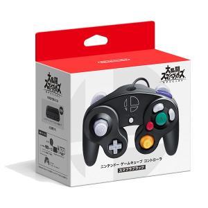 任天堂 ニンテンドー ゲームキューブ コントローラ スマブラブラック 返品種別B