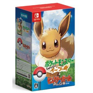 ポケモン (Nintendo Switch)ポケットモンスター Let's Go! イーブイ モンスターボール Plusセットポケモン 返品種別B|joshin